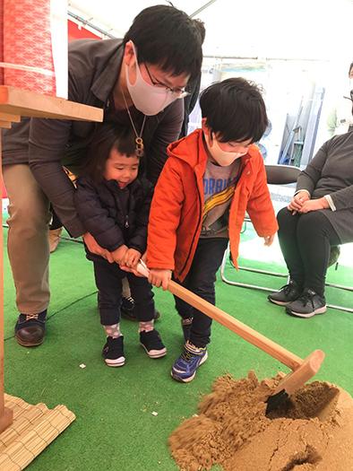 地鎮祭、お家づくりのはじまり~姫路市にて、F様邸~