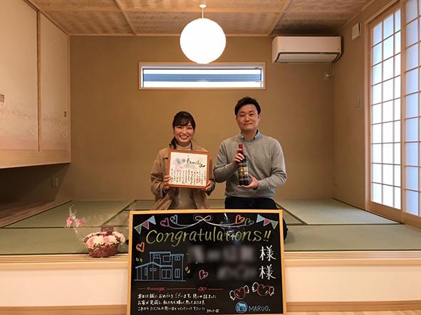 お引渡し式でした~姫路市にて、H様邸が完成しました~