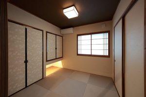 """""""おもてなしの間""""の和室(客間)は、玄関から直接入ることができます。"""